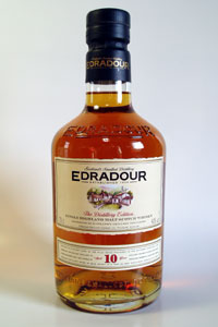Edradour 10 years old Distillery Label