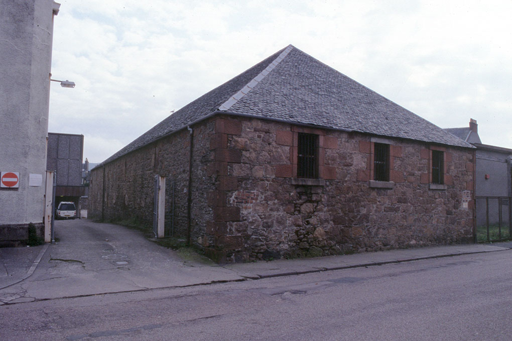 The Warehouse of Springside Distillery