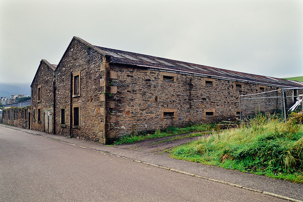 A warehouse of Glen Nevis Distillery
