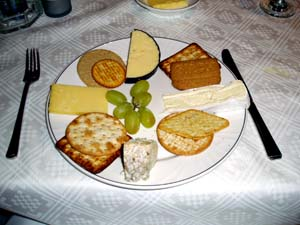 Selection of Scottish Cheeses