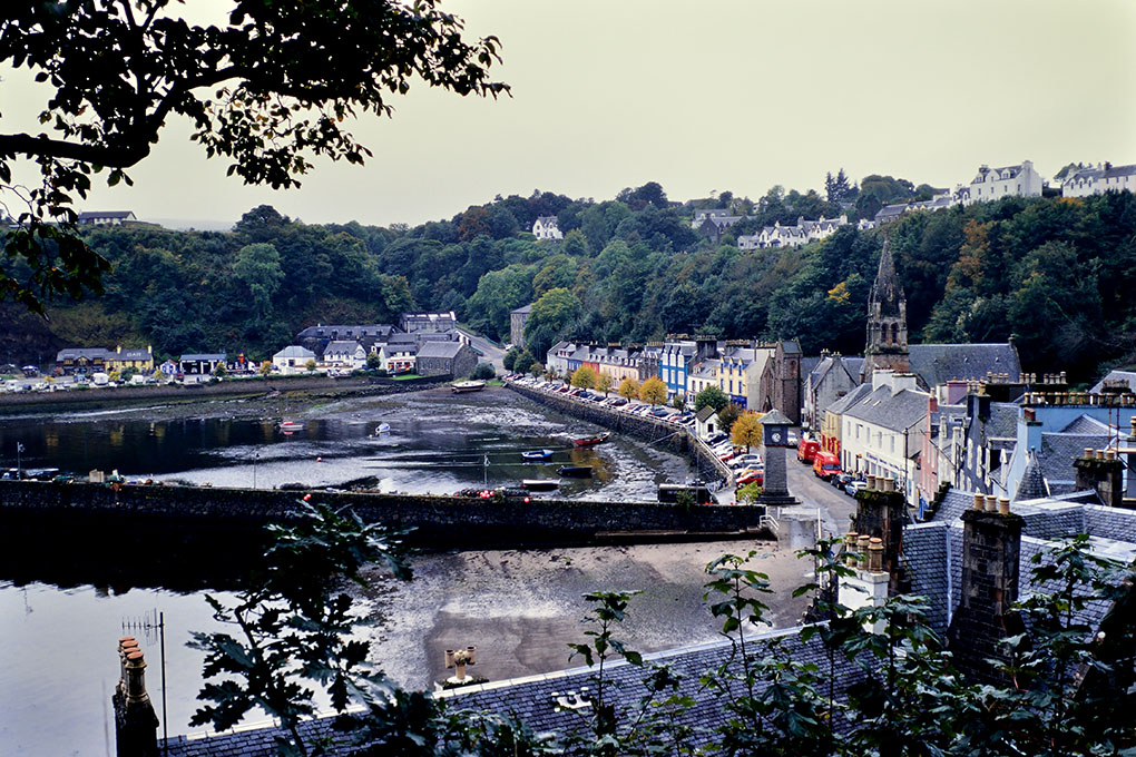 Scenery of Tobermory